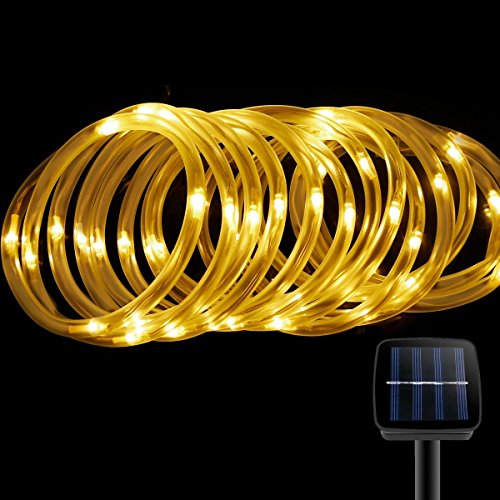 Best Rated Outdoor Solar Powered Rope Lights 2017 Top Product Reviews
