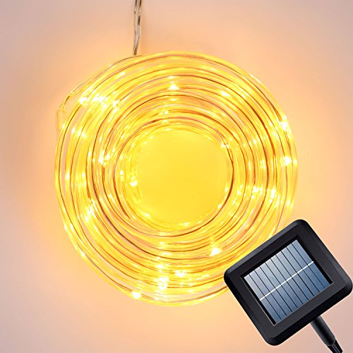 Best Quality Solar String Lights : Best Rated Outdoor Solar Powered Rope Lights 2017 - Top Product Reviews