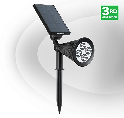 best rated outdoor solar powered spot lights 2019 top product reviews. Black Bedroom Furniture Sets. Home Design Ideas