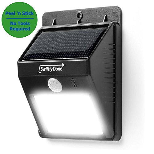 Best Rated Outdoor Solar Powered Motion Security Lights